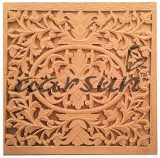 carved wood room divider mdf wall panel jaali design aarsun woods