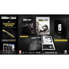 siege jeux rainbow six siege edition collector xbox one jeux xbox one