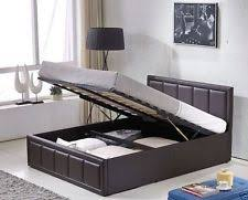 king size ottoman bed ebay