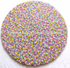 Wool Ball Rug Felt Ball Rug Felt Ball Rug Suppliers And Manufacturers At