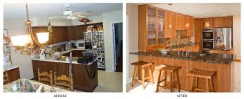Small Kitchen Redo Ideas by Before After Kitchen Remodel Amazing Before And After Kitchen