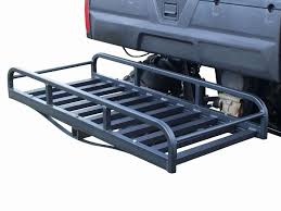 truck rear window guard hitch n ride atv hitch hauler cargo rack