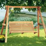 outdoor porch swings home outdoor wood bench swing treenovation