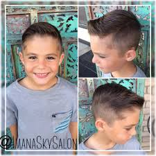 boys side part haircut by amira yelp