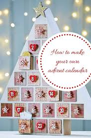 diy christmas advent calendar how to make your own homemade