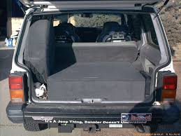 back of a jeep who has a tuffy drawer in the back of their xj page 2 naxja