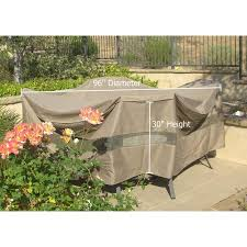 Patio Table Covers Oval by Formosa Covers Patio Set Conversation Set Covers 96