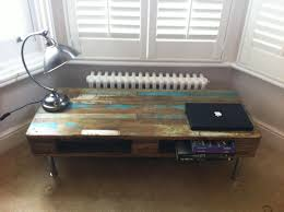 reclaimed wood pallet coffee table the vintage industrial