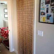 Bamboo Closet Door Curtains Beaded Curtain Closet Doors Http 35people Info Pinterest