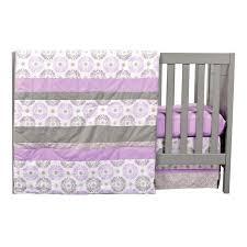 Lilac Damask Crib Bedding Nursery Beddings Lavender Nursery Bedding Sets With Lavender