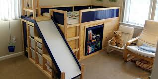 ikea bed hack the ultimate ikea kid s bed is real dad builds awesome kid s bed