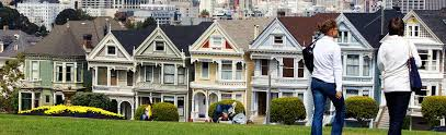 Row House Meaning - painted ladies san francisco travel