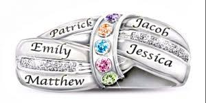mothers day birthstone rings s day birthstone necklaces birth magic