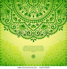 green lace ornament stock vector 120153628