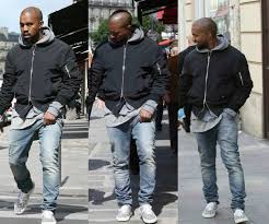kanye west in saint laurent skate lace up sneakers masetv