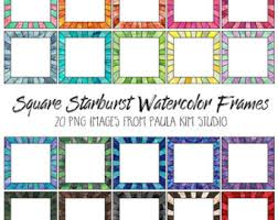 Starburst Design Clip Art Starburst Clip Art Etsy