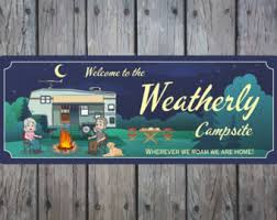 Fire Pit Signs by Rv Sign Etsy
