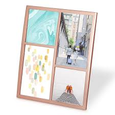 multi aperture photo u0026 collage picture frames red candy