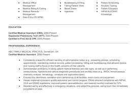 phlebotomy resume phlebotomist resume example phlebotomy resume