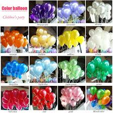 helium birthday balloons 100pcs lot birthday balloons 10inch helium balloon