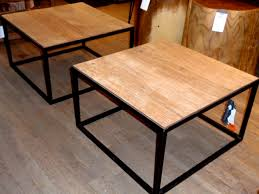 wood metal end table innovative metal coffee tables and end wood stunning table intended