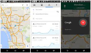 Google Maps Running Route by Download Google Maps 8 2 Update With Voice Controls