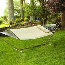 woven spreader bar hammock w pillow bliss hammocks hammock town