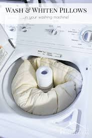 How To Place Throw Pillows On A Bed How To Wash Pillows In The Washing Machine