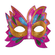 pink mardi gras mask buy fancy pink mardi gras party mask at simply party supplies for