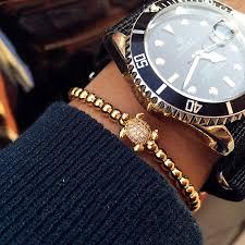 luxury man bracelet images New magic fish bracelet men 4mm beads micro pave braiding cz jpg