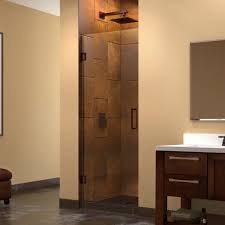 23 Inch Shower Door Dreamline Unidoor 23 Inch Max Frameless Hinged Shower Door
