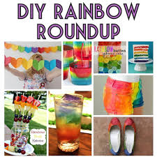 layered rainbow shots rainbow roundup diy crafts fashion and party ideas angela conley