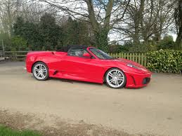 ferrari dealership near me red f430 standard spec car with big brake conversion fitted