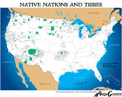 map usa indian reservations nations american fellowship assemblies of god