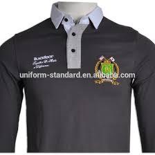 Seragam Sekolah Lengan Panjang oem manufactuers mahasiswa seragam sekolah lengan panjang polo shirt