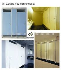 Bathroom Cubicles Manufacturer Casino Glass Toilet Partition Bathroom Cubicle With Aluminum