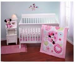 Minnie Crib Bedding Set Disney Minnie Sitting Pretty 3 Crib Bedding