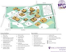 Missouri State Campus Map by Facility Rental