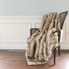How To Make A Faux Fur Rug Faux Fur Blankets U0026 Throws You U0027ll Love Wayfair