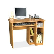 Cherry Wood Corner Computer Desk Small Wood Computer Desk Shippies Co