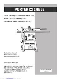 porter cable table saw review manual sierra banco porter cable