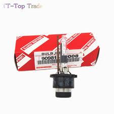 lexus gs430 hid bulb 2pcs for lexus toyota xenon d2r hid bulb 90981 20008 6000k 4300k