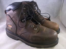 sweetheart new timberland pit boss steel toe work boot brow med