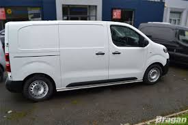 peugeot van 2017 to fit 16 peugeot expert traveller lwb side bars steps skirts