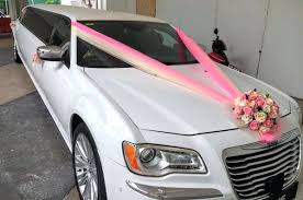 limo decorations wedding limo wedding decorations near me