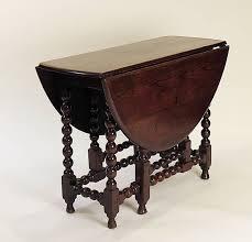 Drop Leaf Oak Table Charles Ii Provincial Oak Drop Leaf Table Circa