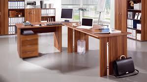 Schreibtisch Tisch Power Schreibtisch Tisch Bürotisch In Walnuss Von Germania