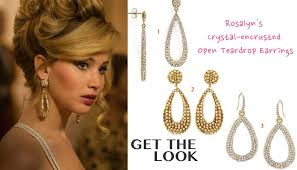 70 s earrings american hustle fashion rosalyn rosenfeld s