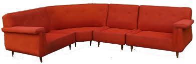 Mid Century Modern Sectional Sofas by Mid Century Modern Four Piece Upholstered Sectional Sofa