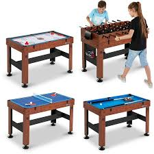 3 in one foosball table md sports 54 inch 4 in 1 combo game table foosball hockey table